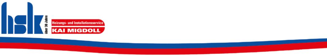 Kai Migdoll – HSK · Heizungs- und Installationsservice GmbH
