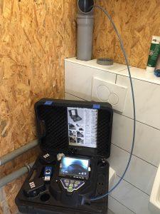 Rohrbrüche und Verstopfungen per Kameraortung